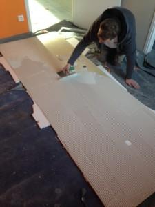 Carrelage imitation marbre 3m*1m