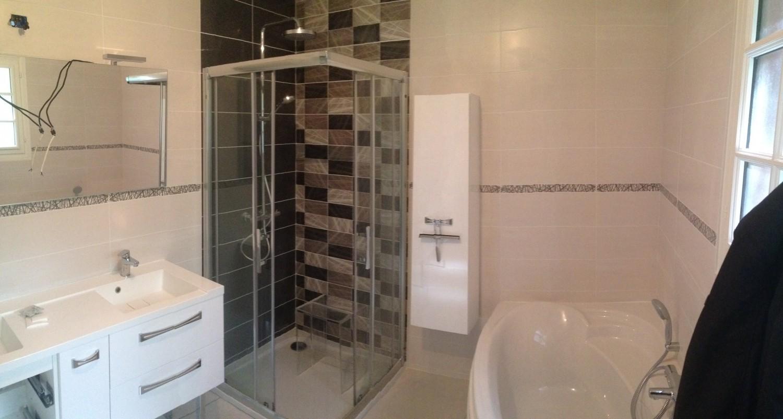 Faïence douche salle de bain